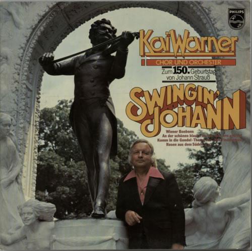 Kai Warner Swingin' Johann vinyl LP album (LP record) German KWTLPSW604602