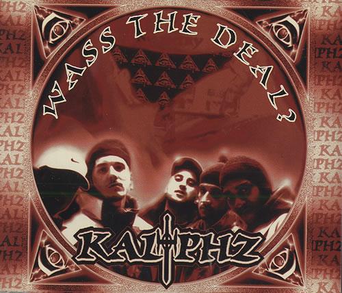 "Kaliphz Collection Of 4 x CD Singles CD single (CD5 / 5"") UK KD-C5CO436228"