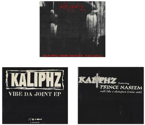 "Kaliphz Collection Of 4 x CD Singles CD single (CD5 / 5"") UK KD-C5CO436228"