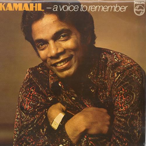 Kamahl A Voice To Remember vinyl LP album (LP record) UK KMHLPAV560606