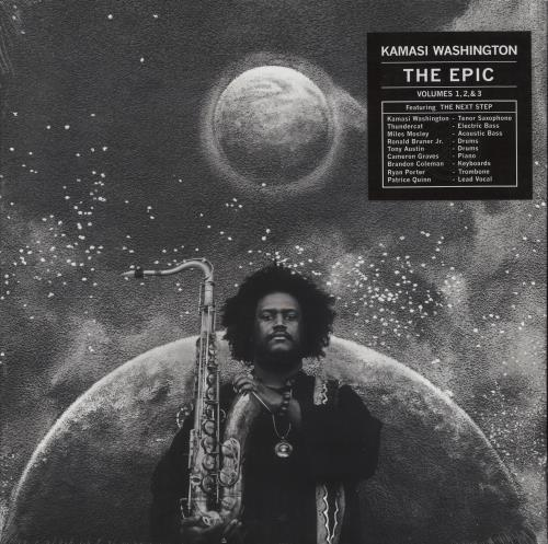 Kamasi Washington The Epic Vinyl Box Set UK Q7PVXTH709181