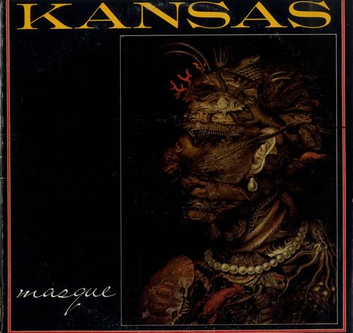 Kansas Masque vinyl LP album (LP record) US KNSLPMA550043