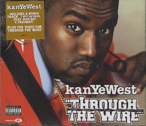 Kanye West Through The Wire UK CD single (CD5 / 5