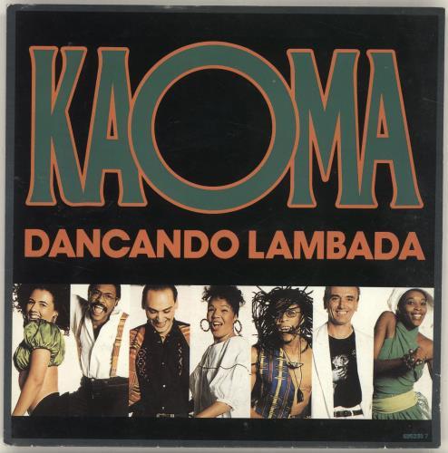 """Kaoma Dancanda Lambada 7"""" vinyl single (7 inch record) UK KMA07DA692172"""