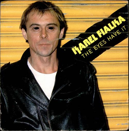 "Karel Fialka The Eyes Have It 7"" vinyl single (7 inch record) UK KFK07TH511459"