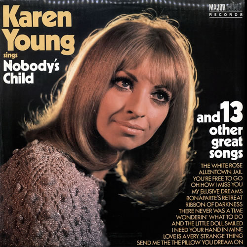 Karen Young Uk Nobody S Child Amp 13 Other Great Songs Uk