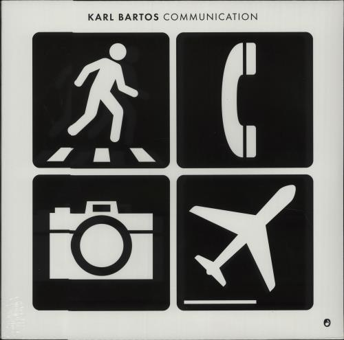 Karl Bartos Communication - Sealed vinyl LP album (LP record) UK KBSLPCO672565