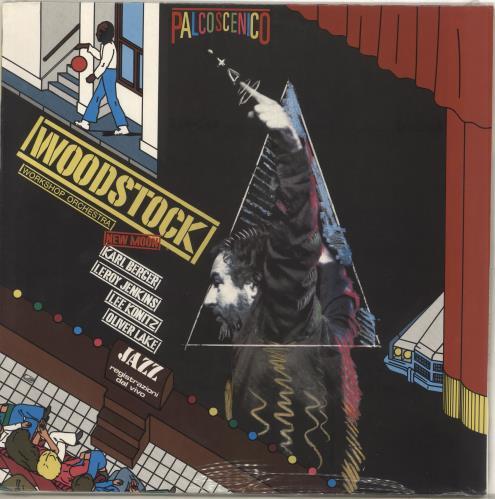 Karl Berger New Moon vinyl LP album (LP record) Italian Q6TLPNE708565