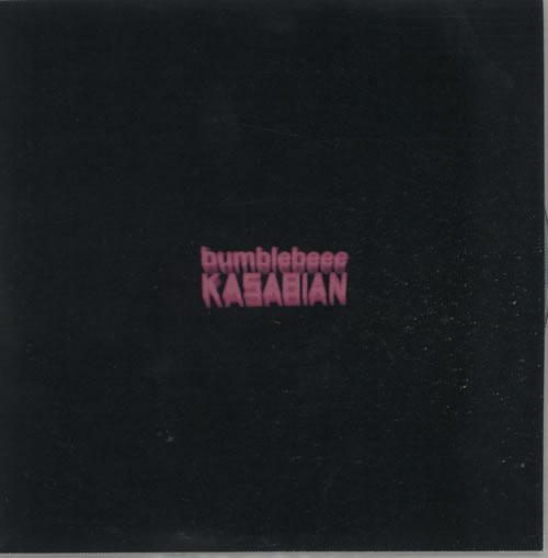 Kasabian Bumblebeee CD-R acetate UK KABCRBU614965