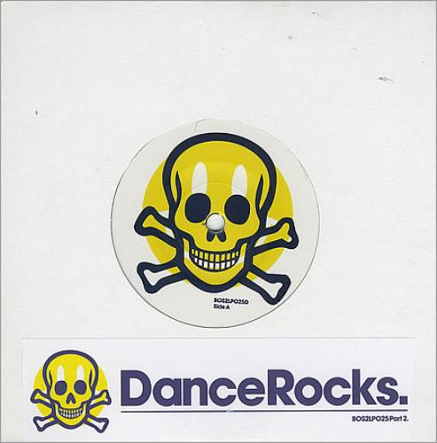 "Kasabian DanceRocks LP Sampler Part 2 7"" vinyl single (7 inch record) UK KAB07DA406023"
