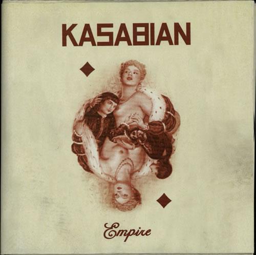 "Kasabian Empire 10"" vinyl single (10"" record) UK KAB10EM628520"
