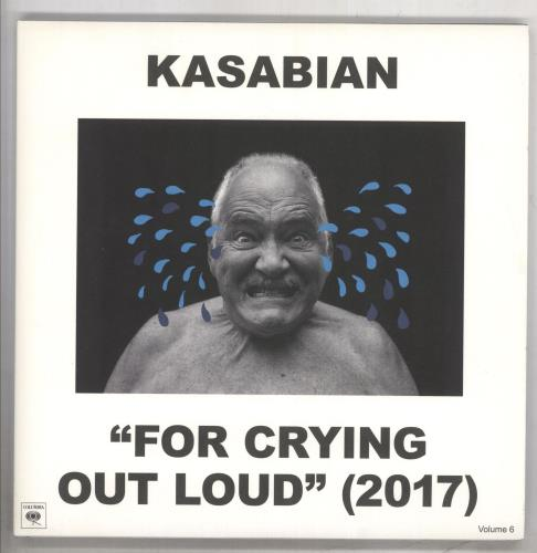Kasabian For Crying Out Loud - White Vinyl 3-LP vinyl record set (Triple Album) UK KAB3LFO733452