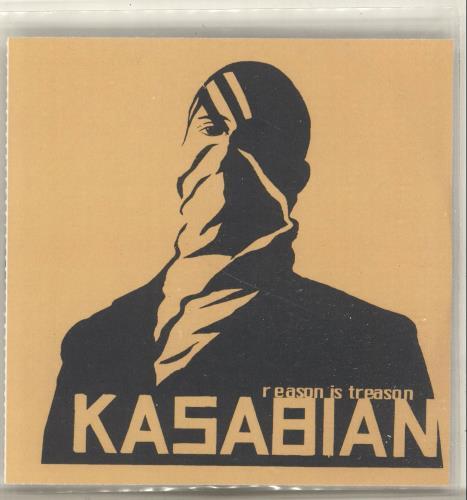 Kasabian Reason Is Treason CD-R acetate UK KABCRRE275454