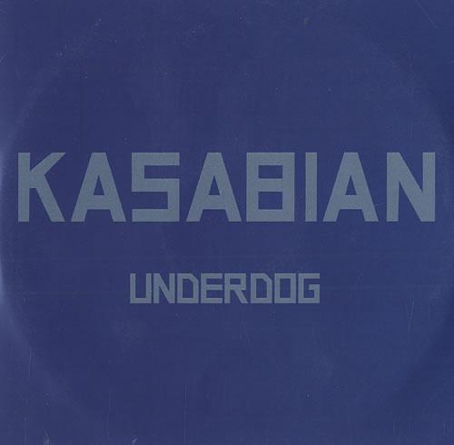 Kasabian Underdog CD-R acetate UK KABCRUN493105