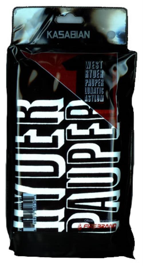 Kasabian West Ryder Pauper Lunatic Asylum - Size XL t-shirt UK KABTSWE492568