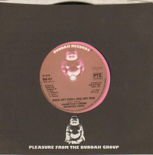 "Kasenetz-Katz Quick Joey Small (Run Joey Run) 7"" vinyl single (7 inch record) UK KGY07QU641794"