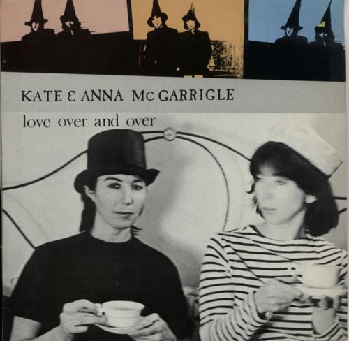 Kate & Anna McGarrigle Love Over And Over vinyl LP album (LP record) UK K&ALPLO619184