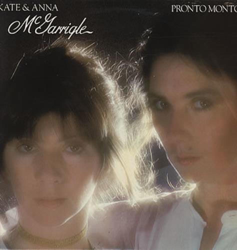 Kate & Anna McGarrigle Pronto Monto vinyl LP album (LP record) UK K&ALPPR314889