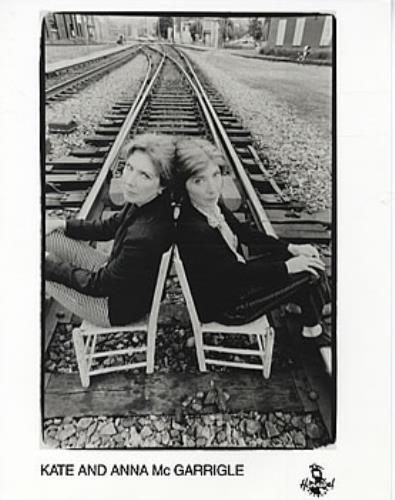 Kate & Anna McGarrigle Set Of 2 Promo Photographs photograph UK K&APHSE312653