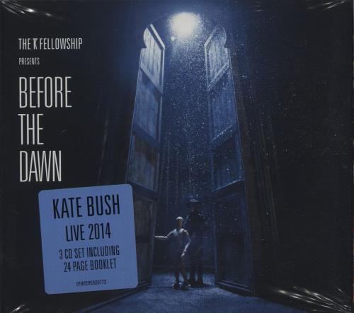 Kate Bush Before The Dawn - Sealed 3-CD album set (Triple CD) UK BUS3CBE664691