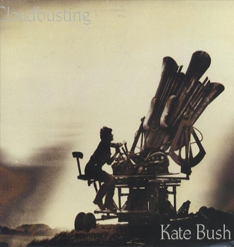 "Kate Bush Cloudbusting 12"" vinyl single (12 inch record / Maxi-single) US BUS12CL06398"