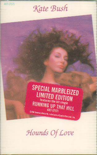 Kate Bush Hounds Of Love - Special Marbleized Limited Edition cassette album Canadian BUSCLHO126658