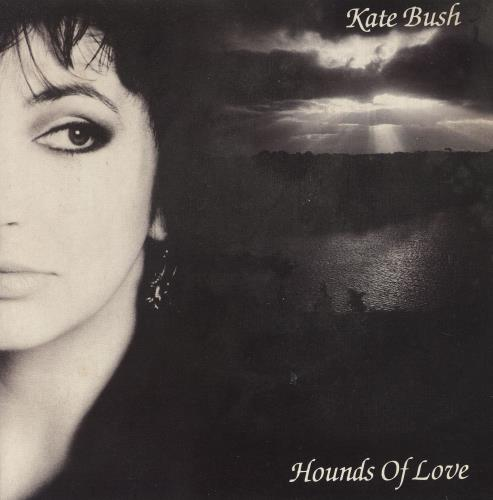"Kate Bush Hounds Of Love - Textured 7"" vinyl single (7 inch record) UK BUS07HO31721"