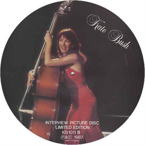 Kate Bush Interview Picture Disc UK picture disc LP (vinyl picture disc  album)