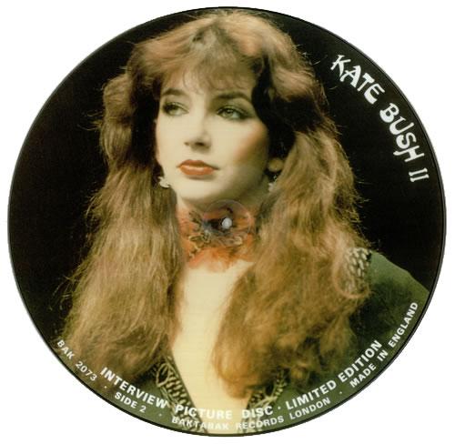 Kate Bush Interview Picture Disc UK picture disc LP (vinyl picture