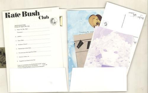 Kate Bush Kate Bush Tour + postcards, flyers & form tour programme UK BUSTRKA214334