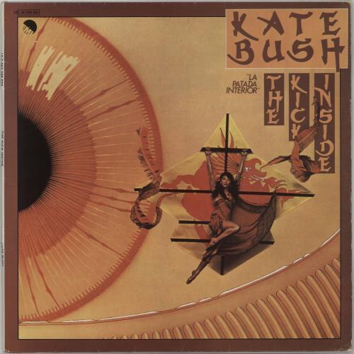 Kate Bush La Patada Interior vinyl LP album (LP record) Spanish BUSLPLA656548