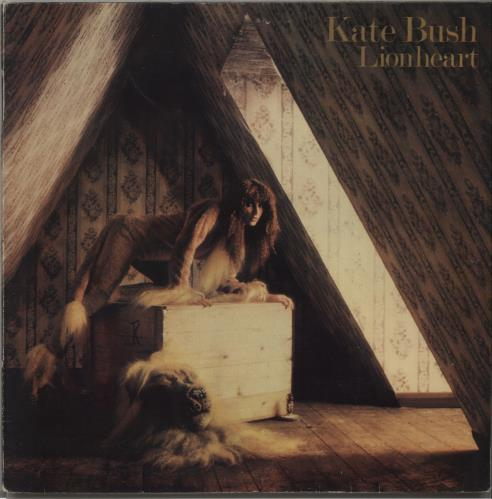 Kate Bush Lionheart vinyl LP album (LP record) Portugese BUSLPLI646930