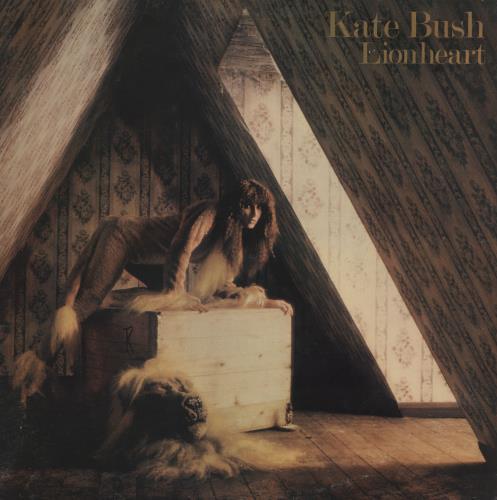 Kate Bush Lionheart vinyl LP album (LP record) UK BUSLPLI758201