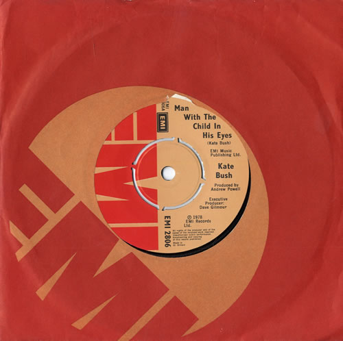 """Kate Bush Man With The Child In His Eyes - 2nd 7"""" vinyl single (7 inch record) UK BUS07MA559476"""