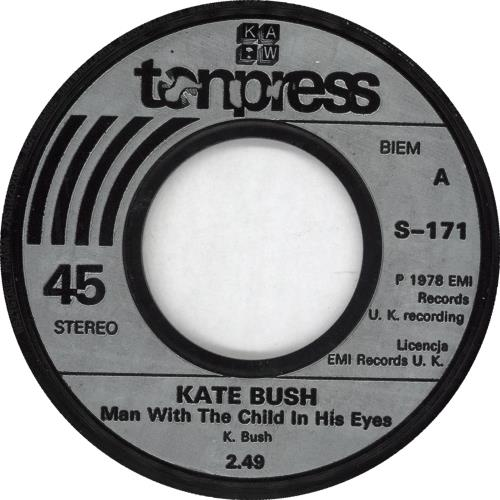 "Kate Bush Man With The Child In His Eyes 7"" vinyl single (7 inch record) Polish BUS07MA710536"