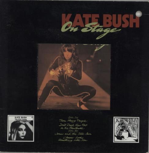 "Kate Bush On Stage - 12"" Frame Sleeve 7"" vinyl single (7 inch record) Canadian BUS07ON147795"
