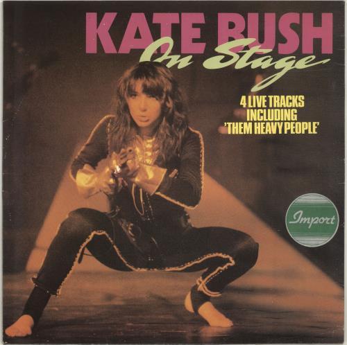 "Kate Bush On Stage 12"" vinyl single (12 inch record / Maxi-single) Dutch BUS12ON47759"