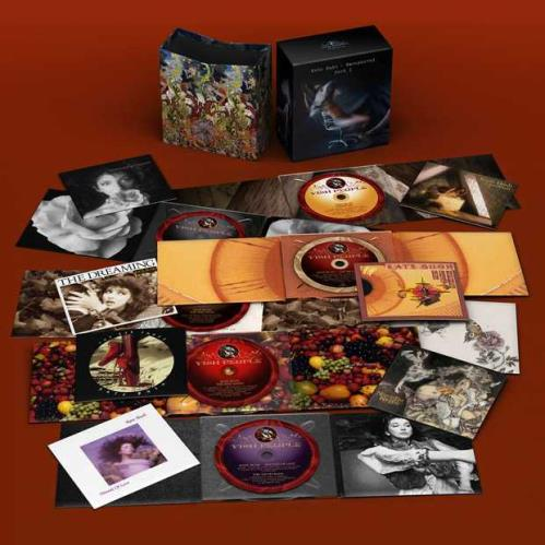Kate Bush Remastered Part I - Sealed UK CD Album Box Set