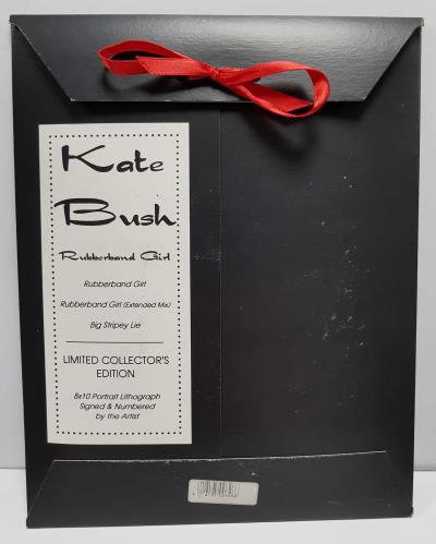 "Kate Bush Rubberband Girl Lithograph Pack CD single (CD5 / 5"") US BUSC5RU24233"