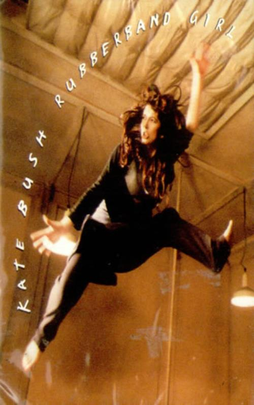 Kate Bush Rubberband Girl cassette single US BUSCSRU104754