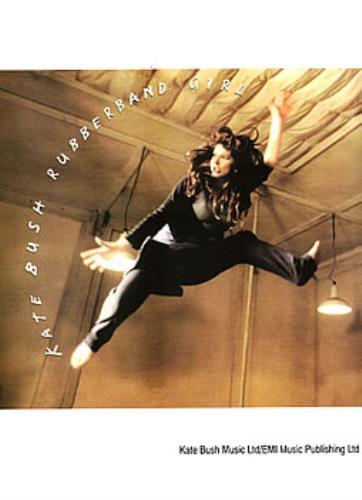 Kate Bush Rubberband Girl sheet music UK BUSSMRU128898