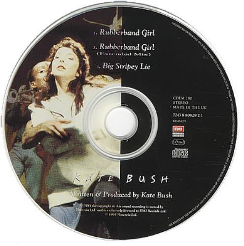 "Kate Bush Rubberband Girl CD single (CD5 / 5"") UK BUSC5RU35358"
