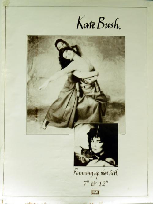 Kate Bush Running Up That Hill poster UK BUSPORU618897