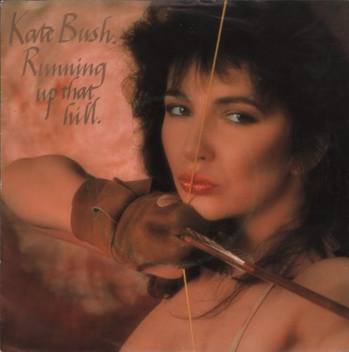 "Kate Bush Running Up That Hill 7"" vinyl single (7 inch record) Dutch BUS07RU667187"