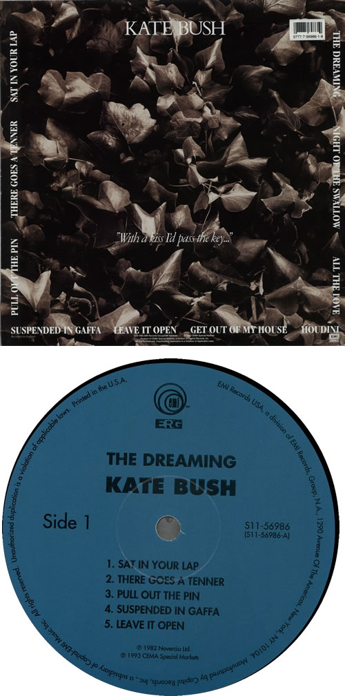 Kate Bush The Dreaming vinyl LP album (LP record) US BUSLPTH575675