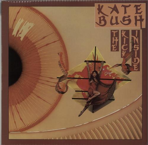 Kate Bush The Kick Inside - 1st vinyl LP album (LP record) UK BUSLPTH645179