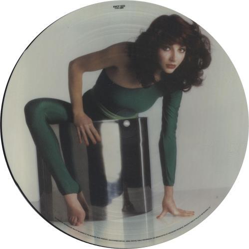 Kate Bush The Kick Inside - 2nd - Oval Sticker picture disc LP (vinyl picture disc album) UK BUSPDTH95253