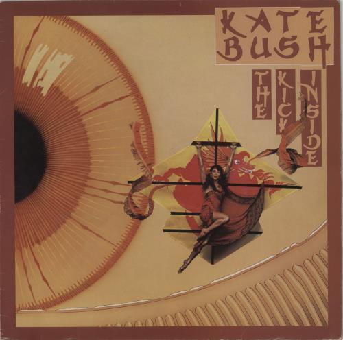 Kate Bush The Kick Inside - 2nd vinyl LP album (LP record) UK BUSLPTH644343