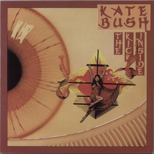 Kate Bush The Kick Inside - 3rd vinyl LP album (LP record) UK BUSLPTH666859