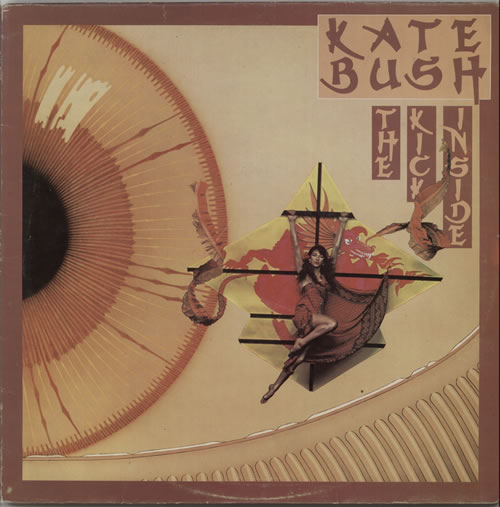 Kate Bush The Kick Inside vinyl LP album (LP record) Greek BUSLPTH460391